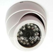 "1/3"" 420TVL Sharp CCD Color CCTV Indoor Dome Security Wide Angle Camera with 3.6mm lens 24 IR LEDs"