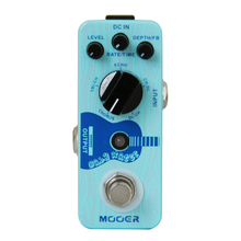 Mooer Single Acoustic Delay Chorus Effects True Bypass Baby Water Effect Guitar Pedal(China)