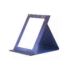 Desktop Mirror Portable Folding Paper Desktop Beauty Mirror Portable Cute Portable Mirror.