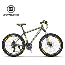 Buy EUROBIKE 21 Speed Aluminum Mountain bike Dual Disc Brake Mountain bicycle for $210.00 in AliExpress store