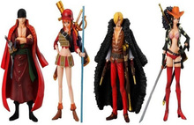 Anime One Piece PVC Action Figure Toys Dolls Zoro Sanji Nami Robin Figure Action Model Collections 15cm