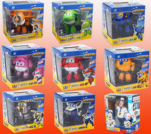 15 cm Big Size Super Wings Jett transformation robot jimbo Super Wing Deformation Toys birthday gift Brinquedos Free Shipping(China)