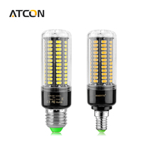 1Pcs Super Lumen 5736 SMD No Flicker LED lamp E27 E14 Full Watt 3W 5W 7W 8W 12W 15W 110V -220V LED Corn light Bulb With CE RoHS