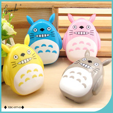 Lymouko New Style Cartoon Neighbor Totoro with Mirror Contact Lens Case for Gift Contact Lenses Box Eyewear Accessories(China)
