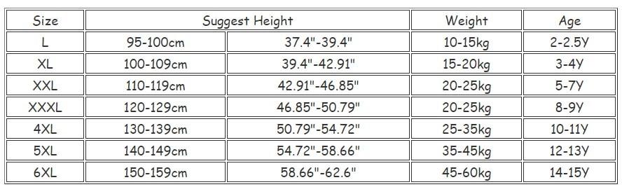 100-160cm