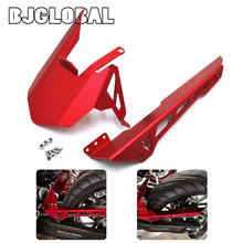 Motorcycle CNC Aluminum Rear Tire Hugger Fender Chain Guard Cover For Yamaha MT07 2013 2014 2015 2016 FZ07 2015 2016