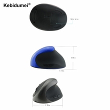 Optical Wireless Mouse Healthy Ergonomic Mouse 6 Buttons Mice With DPI Switch Vertical Mice For Desktop PC Laptop(China)