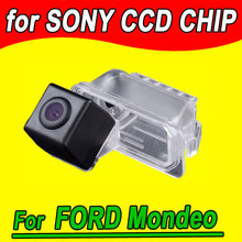 For Ford Focus/Fiesta/Mondeo/S-Max/Kuga Car rear view Camera back up reverse parking cam for GPS radio waterproof night vision(China)