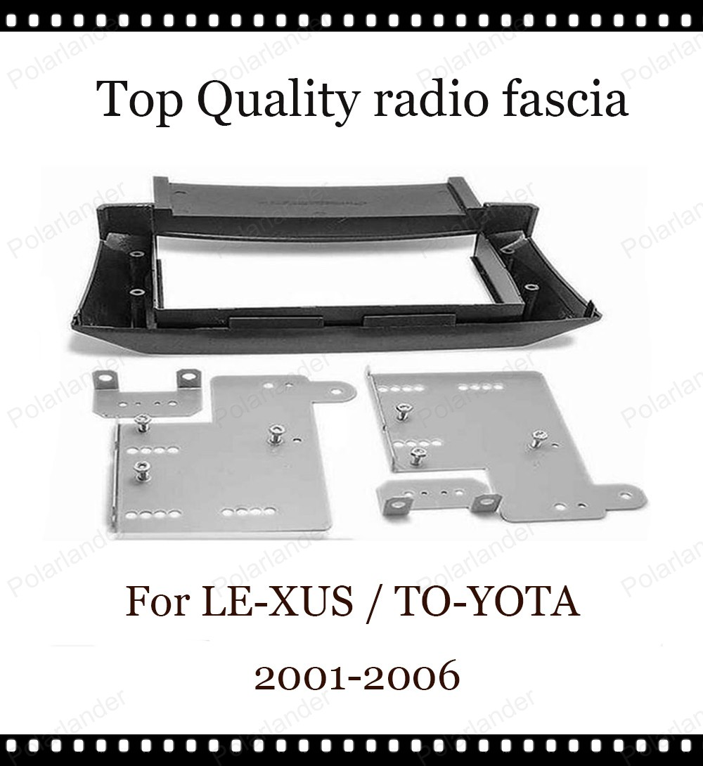 2-DIN car DVD plastic audio radio frame navigation for LE-XUS LS-430 UCF-30 2001-2006 for TO-YOTA Ce-lsior UFC30 2001-2006<br><br>Aliexpress