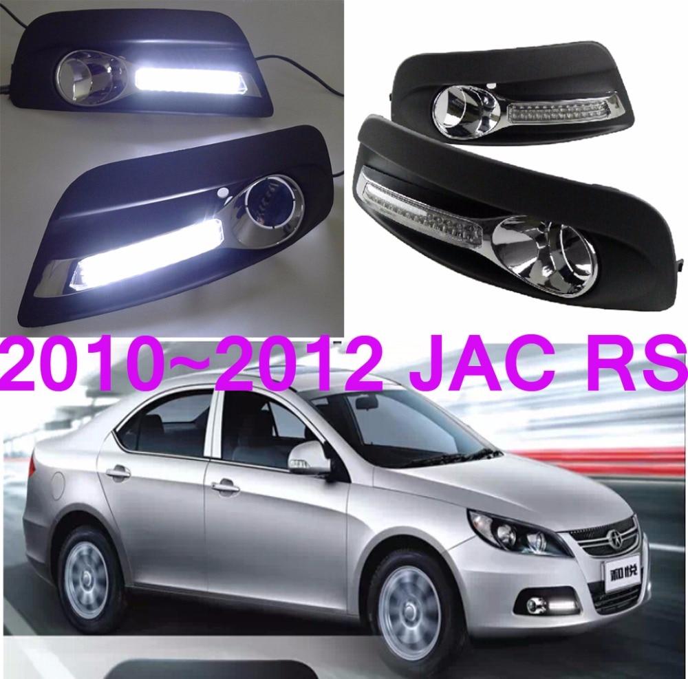 Car-styling,JAC RS daytime light,2010~2015,LED,Free ship!2pcs,car-detector,JAC 5 fog light,car-covers,JAC J5,JAC J6<br>