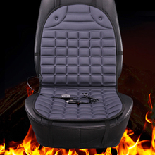 12v grey electric heated Car seat covers, universal winter car seat cushion accessories, heating keep warm seat pads