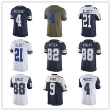 Men's Dak Prescott Jason Witten Ezekiel Elliott Dez Bryant Tony Romo Emmitt Smith Vapor Untouchable Custom Cowboys Jersey(China)