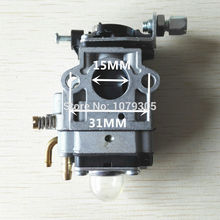 2PCS Carburetor for 43CC/52CC Brush Cutter.Grass Trimmer.Lawn Mower.Tiller.Outboard.Gasoline Engine Garden Tools(China)