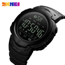 Buy SKMEI Men Smart Sports Watch Calories Pedometer Digital Reminder Watches Fitness Bluetooth Ios Android Wristwatches 1301 for $16.06 in AliExpress store
