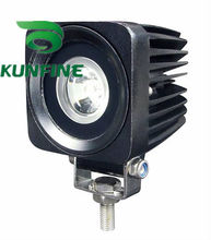 Cheap shipping !18months warranty !10~30V /10W LED work Light for Truck Trailer SUV technical vehicle Boat