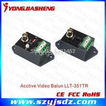 Long distance 1 channel Active Video Balun for CCTV free shipping