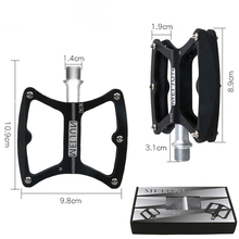 Alloy BMX MTB Bike Road Palin Bearing Ultralight Steel Bearing Cleats Foot Pedal Bicycle Folding With Spike Pedals