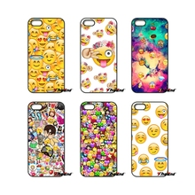 Love Smilies face emoji Print Hard Phone Case Cover For Samsung Galaxy Note 2 3 4 5 S2 S3 S4 S5 MINI S6 S7 edge Active S8 Plus