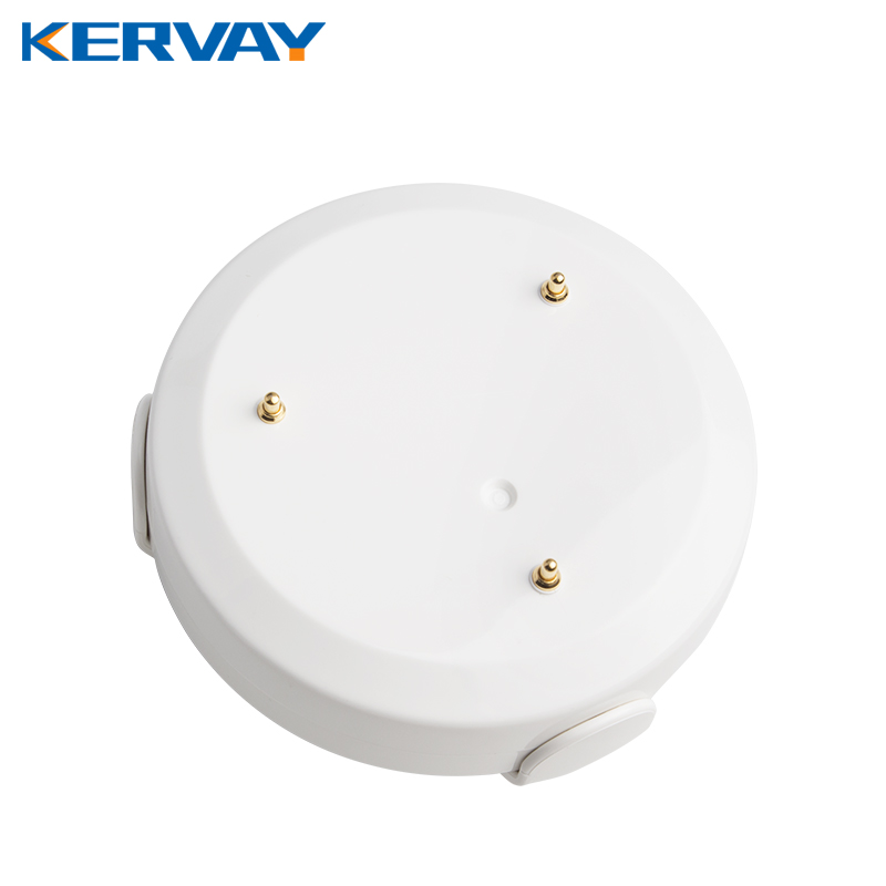 Kervay Wireless Z wave Flood Sensor Compatible with Zwave 300 series and 500 series z-wave Home Automation System <br>