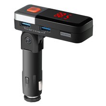BC11 Wireless Bluetooth FM Transmitter, Bluetooth Car Adapter, FM Radio Transmitter, Car Kit Handsfree Calling MP3 Player