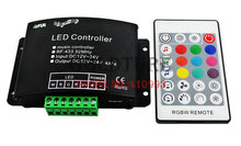 LED music voice RGBW controller 24 key RGBW wireless audio controller