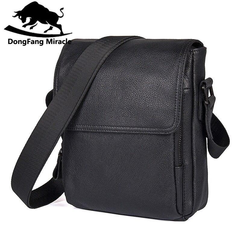 Hot sale New casual genuine leather men bags small shoulder bag men messenger bag crossbody leisure bag<br>