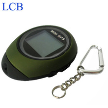 Shipping By DHL 10pcs/lot Handheld Keychain GPS Tracker Mini Location Finder For Outdoor Sport(China)