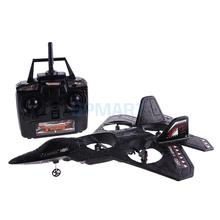 X-Series F22 Fighter Jet 4 CH Channel RC Remote Control Quad Copter Plane Electric RTF Ready to Fly Boys Toy Foam Airplane