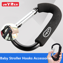 High Quality JOYREN Baby Stroller Hooks Aluminium alloy Pram Hook Baby Stroller Hooks Shopping Bag Hanger Stroller Accessories