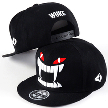 Big Teeth Gravity Falls Unisex Snapback Hat Hip Hop Flat Brim Adjustable Baseball Cap