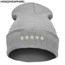 21 Colors High Quality Hats Female Winter Beanies Solid Candy Color Men Women Warm Cuff Plain Knit  Long Beanie Skull Cap