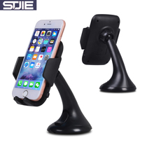 STJIE universal cellphone car holder adjustable windshield hold mobile phone cradle support for iphone 5s 6 7 plus(China)
