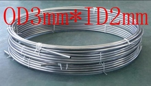OD3mm*ID2mm,Stainless steel gas line pipe,stainless steel tube,stainless steel coil pipe