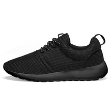 LQDRIO Tennis Masculino Adulto Sneakers Men Breathable Mesh Outdoor Sports Shoes Men Male Trainers Black zapatillas hombre(China)
