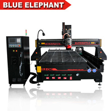 Vacuum table atc cnc router 1325 / automatic tool change cnc router for wooden door 1325 ATC cnc router , 4 axis cnc router(China)