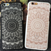 UVR luxury flower Pattern For Iphone 6 6s plus 7 7 plus 5 5s SE case phone cases back cover mobile phone case feather Dust plug