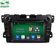 GreenYi 8 Core Cortex-A53 RAM 2GB Android 6.0 Car DVD Player For Mazda CX7 CX-7 CX 7 Stereo Radio TV 4G WiFi GPS Navigation