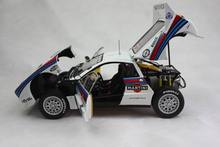 kyosho 1:18 Lancia 037 Rally 1983 Rally Sanremo Winner No .6 Limited edition car model alloy