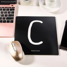 Office Desk Mat White Black Words Office Desk Accessories Set Office Desk Organizer School Supplies High Quality(China)