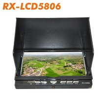 2015 New Boscam FPV Monitor RX-LCD5806 7'' 5.8GHz 32CH Diversity Receiver DVR HD FPV Monitor