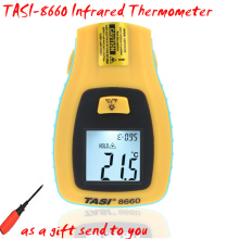 TASI-8660 Infrared Thermometer temperature range -50~330C , Portable temperature measurement instrument free shipping(China)