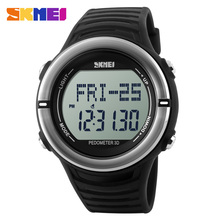 SKMEI 1111 Heart Rate Monitor Outdoor Sports Calories Watch LED Digital Fitness Running For Men Alarm Clock Wristwatches