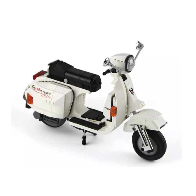 XINGBAO XB-03002 The Vespa P200 Motocycle Building Block 11