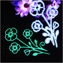 1 PC Mother's Day Flower 3D Cutting Dies Stencils Scrapbookings Cards Embossing Mother's Gifts DIY Crafts Sweet3D Cutting Dies