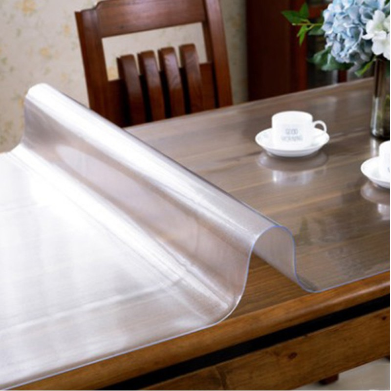 Mantel PVC transparente Imperméable d/'water Cocina Patrón aceite Mantel Vidrio