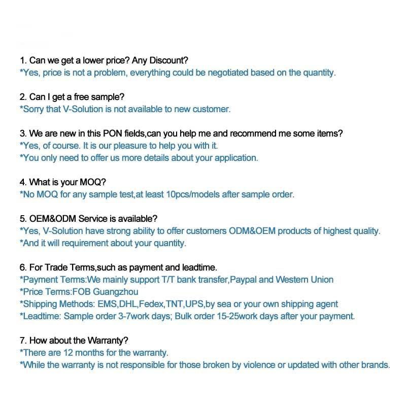 FAQ -