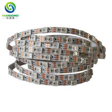 5mm White flexible PCB dc 5v WS2812b rgb addressable digital led strip light ws2812 60leds/m 5050 smd ws2811 non-waterproof IP20