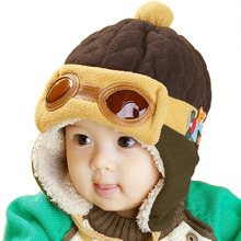 Bomber Hats Toddlers Cool Baby Boy Girl Infant Winter Warm Cap Hat Beanie For Kids Xmas Gift W1