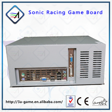 Car Racing Game Console Kit Sonic Simulator Car Racing Driving Game Mario Kart Racing Game Motherboard for  Arcade Game Machine