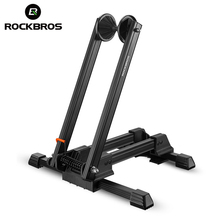 ROCKBROS Aluminum Alloy Bicycle MTB Mountain Racks Portable Maintenance Support Frame Folding Display Repair Stand Bike Part(China)